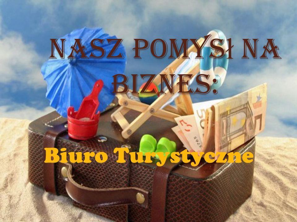 Nasz pomys ł na biznes: Biuro Turystyczne