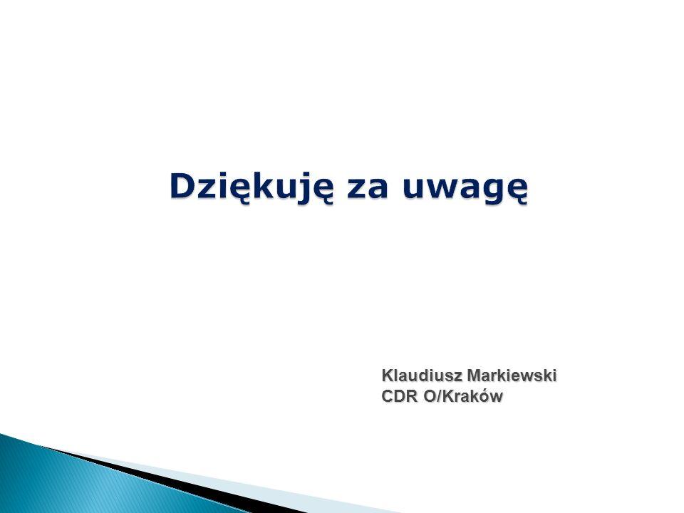Klaudiusz Markiewski CDR O/Kraków