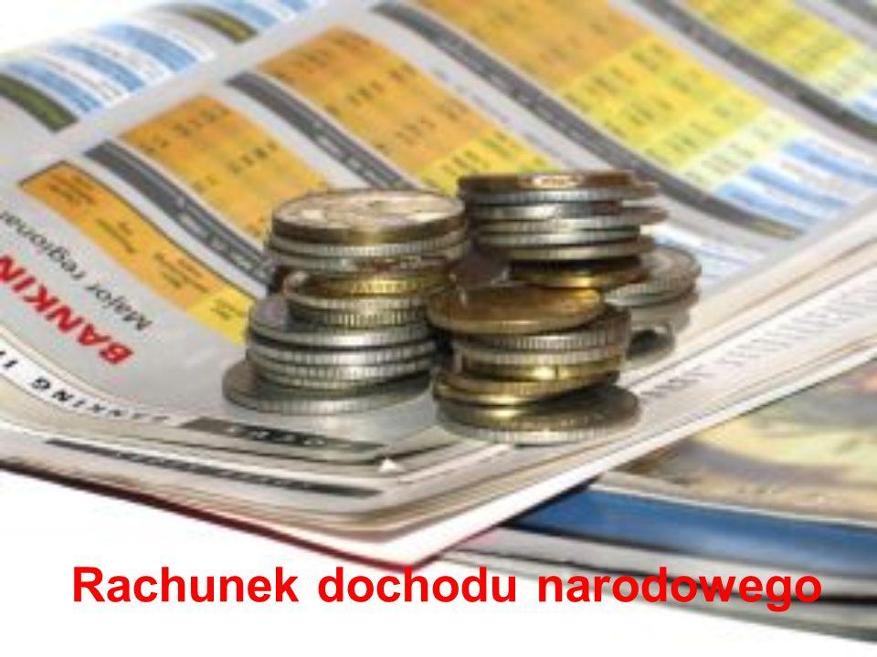 Rachunek dochodu narodowego