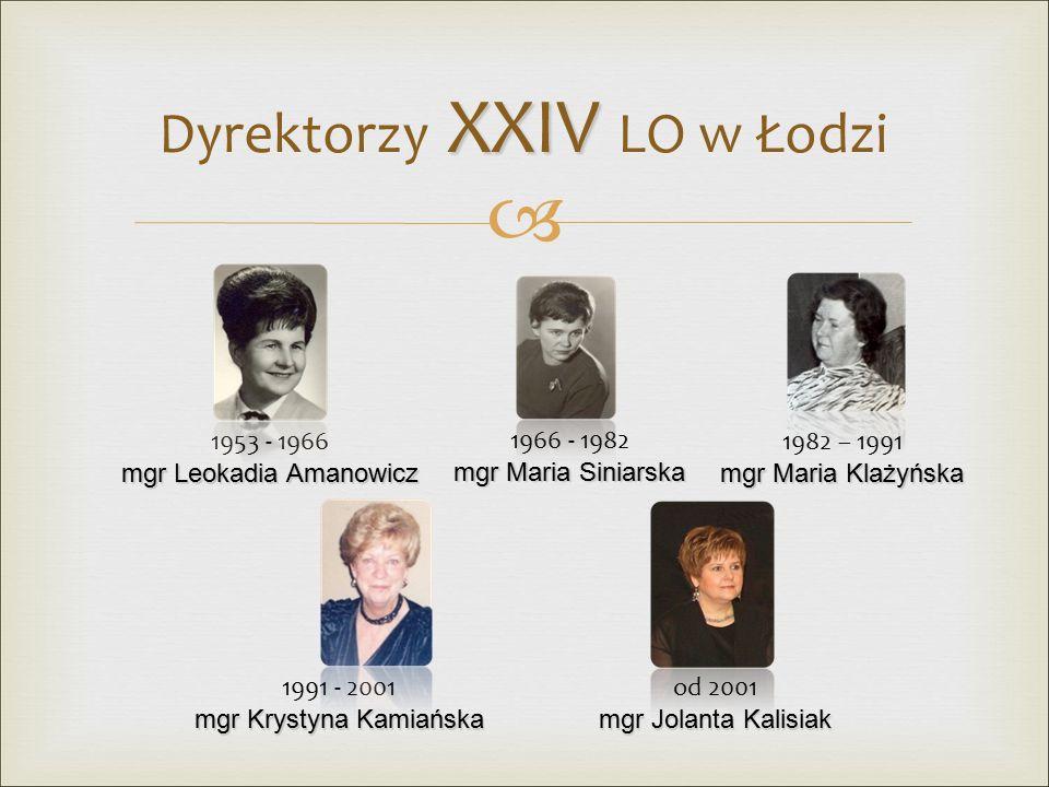   Autorem hymnu XXIV LO jest Paweł Gryglewski i Andrzej Wierzbowski.