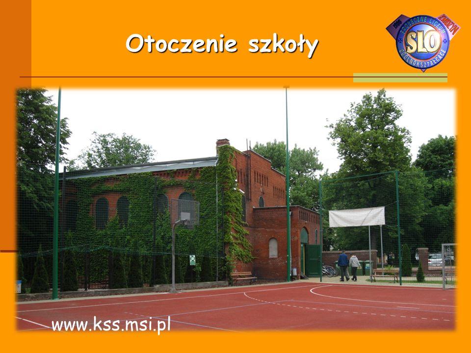 Otoczenie szkoły www.kss.msi.pl