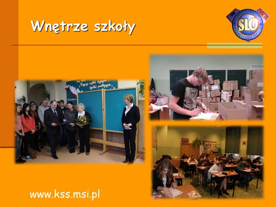Wnętrze szkoły www.kss.msi.pl