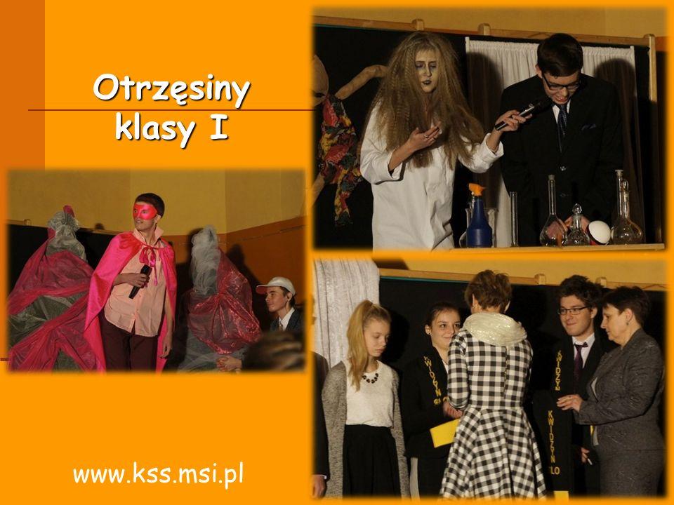 Otrzęsiny klasy I www.kss.msi.pl