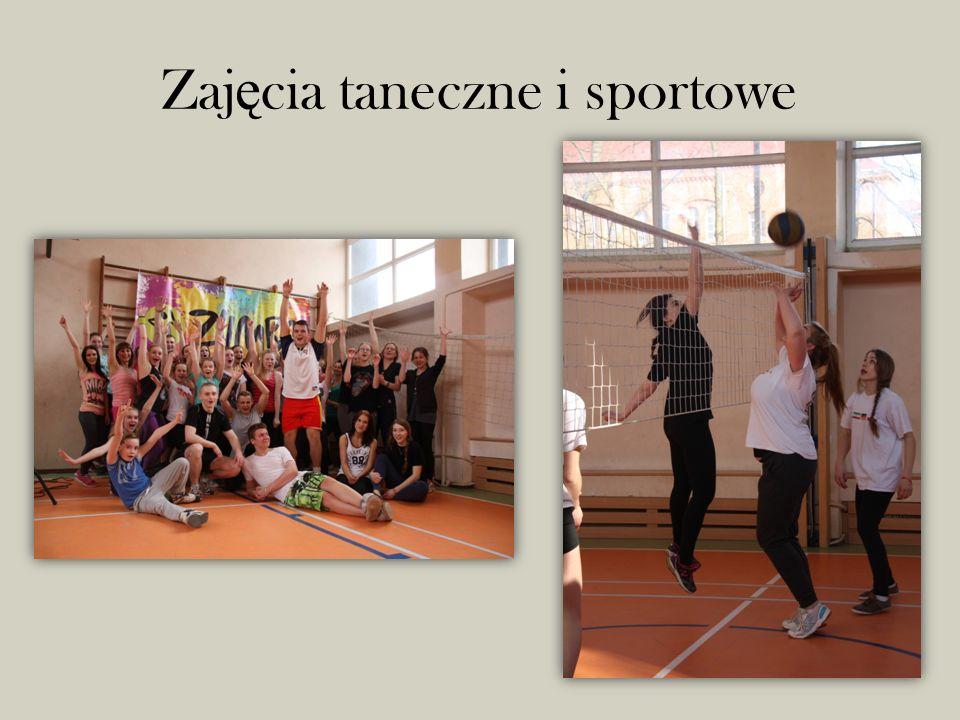 Zaj ę cia taneczne i sportowe