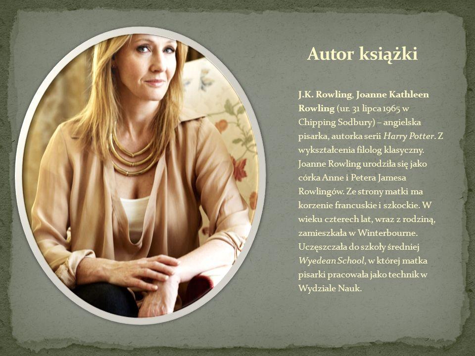 J.K.Rowling, Joanne Kathleen Rowling (ur.