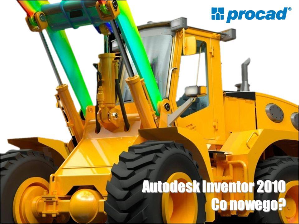 Autodesk Inventor 2010 Co nowego