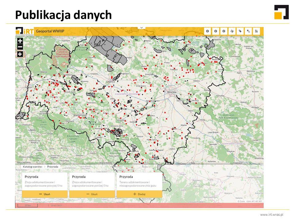 www.irt.wroc.pl Publikacja danych
