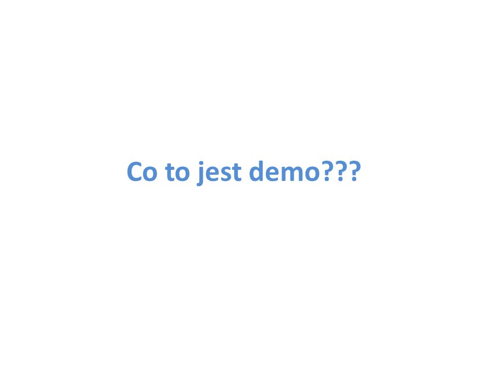 Co to jest demo???