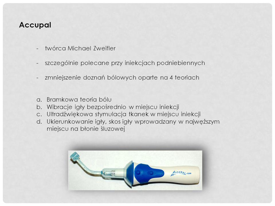 PRZYSZŁOŚCIOWE ALTERNATYWY DLA ZNIECZULEŃ MIEJSCOWYCH -Znieczulenie podawane na błonę śluzową nosa w postaci sprayu -Znieczulanie zębów szczęki -Tetrakaina + chlorowodorek oksymetazoliny, Decongestant Nasal Spray