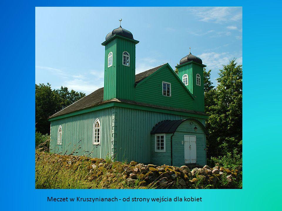 Drugim meczetem, starszym oraz większym od tego w Bohonikach jest meczet w Kruszynianach.