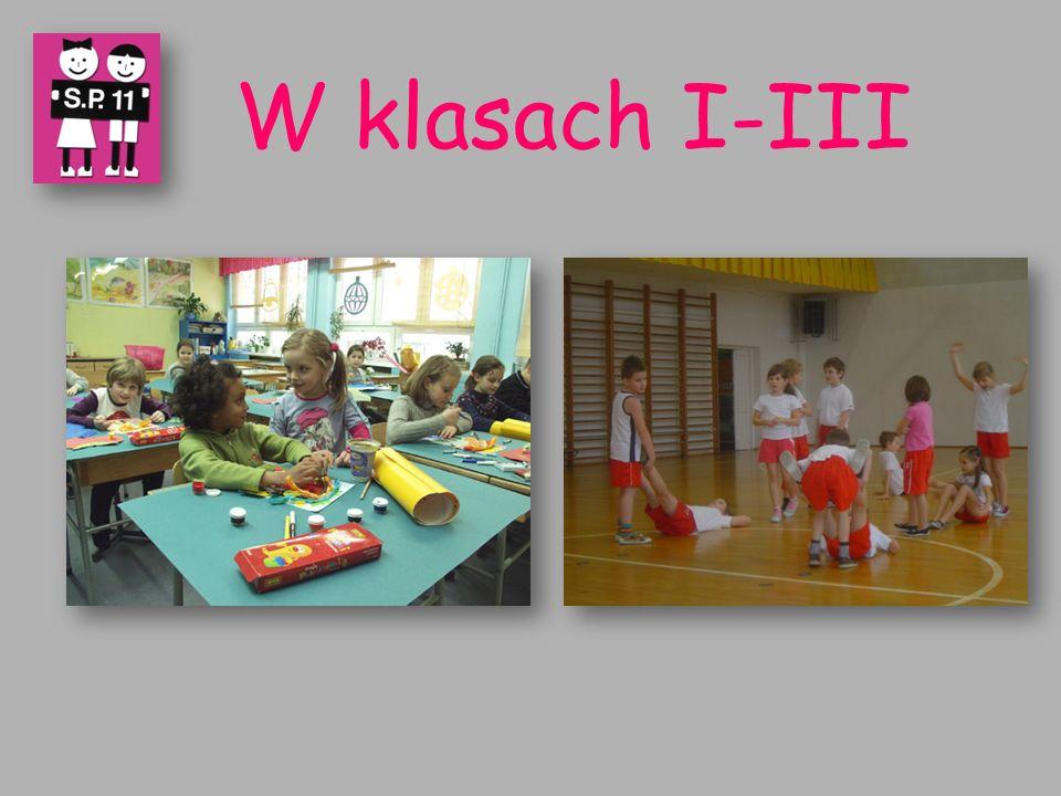 W klasach I-III