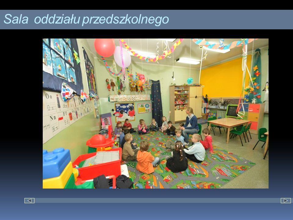 Sala oddziału przedszkolnego