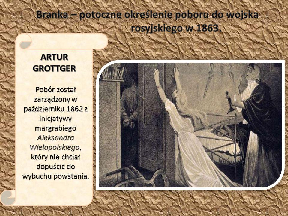 Pobór został zarządzony w październiku 1862 z inicjatywy margrabiego Aleksandra Wielopolskiego, który nie chciał dopuścić do wybuchu powstania.