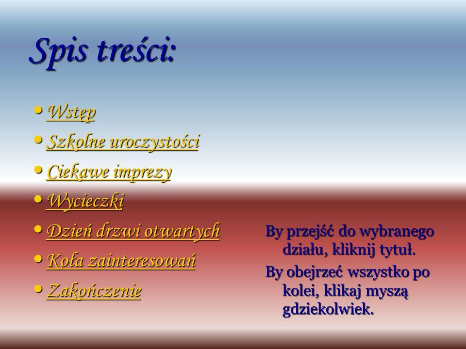 17. AGRA 2005 – stoisko naszego gimnazjum Powrót do spisu treści Ciekawe imprezy