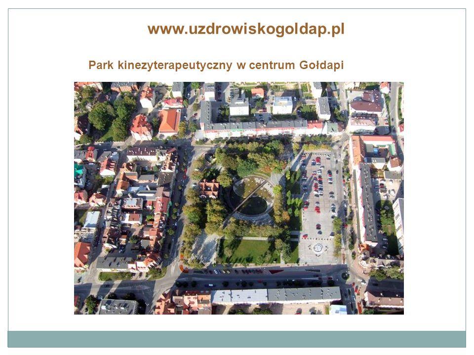 www.uzdrowiskogoldap.pl Urządzenia kinezyterapeutyczne w centrum miasta