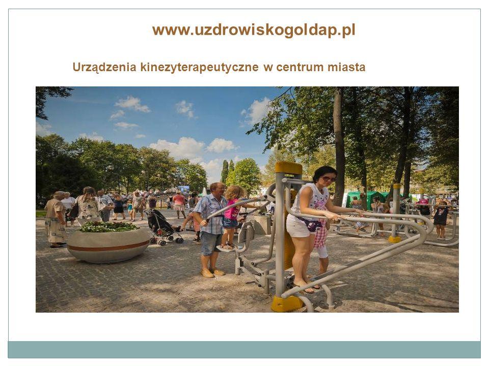 www.uzdrowiskogoldap.pl Podświetlane fontanny i amfiteatr