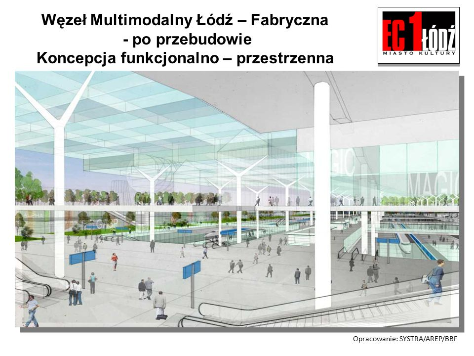 Węzeł Multimodalny Łódź – Fabryczna - harmonogram realizacji Przetarg na przebudowę dworca Łódź Fabryczna – 04.12.2009.