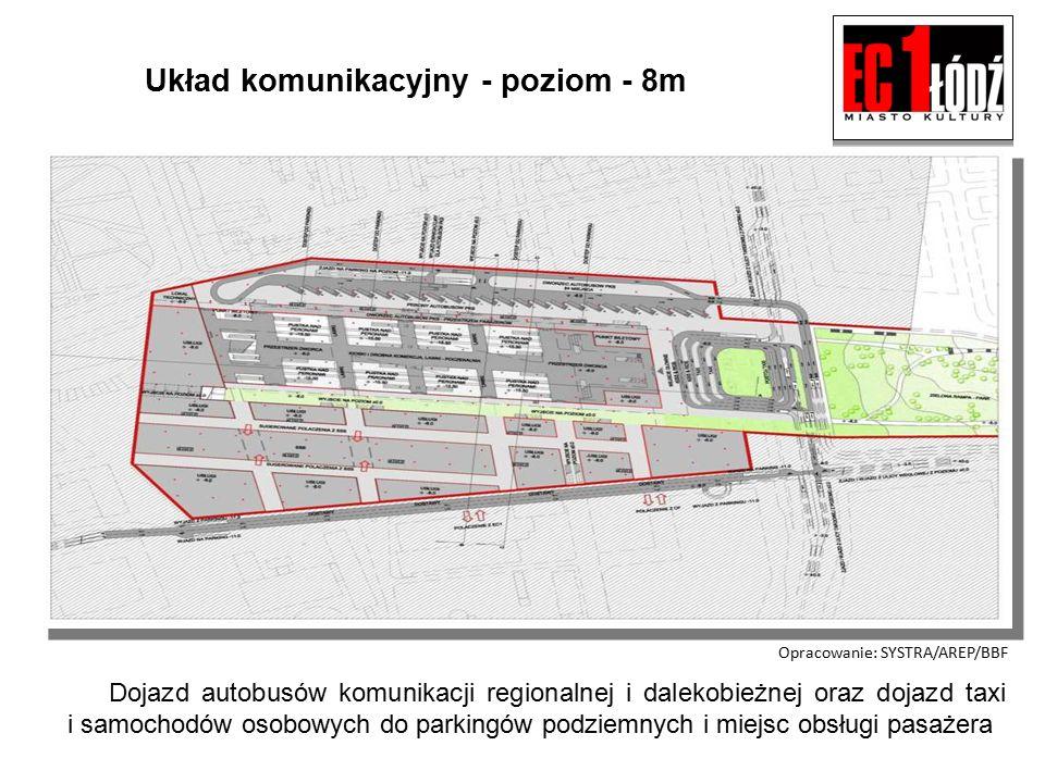 Proponowane rozwiązanie przebiegu tuneli pod miastem.