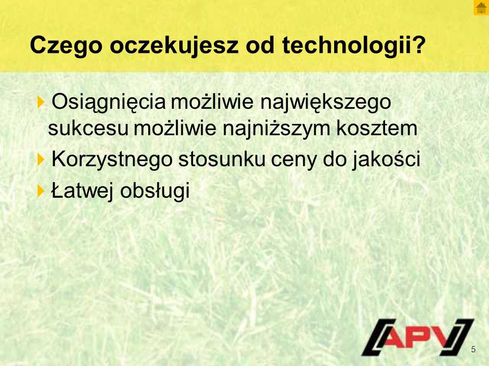 Czego oczekujesz od technologii.