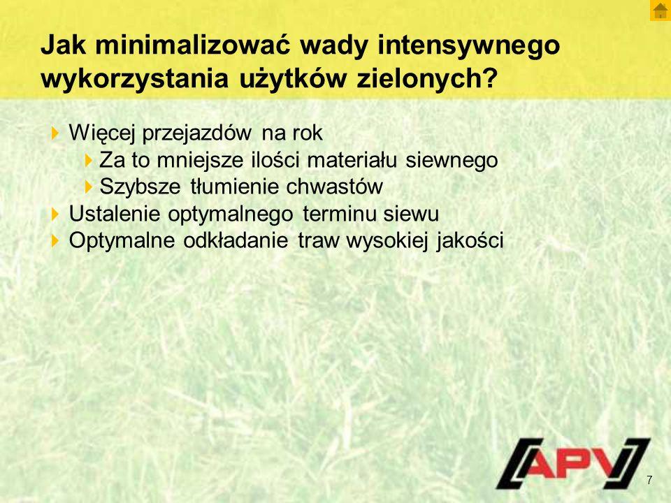 GS 600 M1 – Przeznaczenie 18  Zwiększenie urodzajności gleby  Zwiększenie żyzności ziemi  Likwidacja chwastów  Pobudzanie krzewienia traw  Aeracja łąk