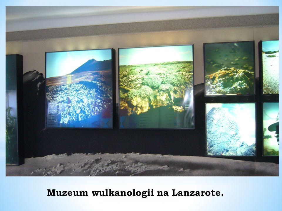 Muzeum wulkanologii na Lanzarote.