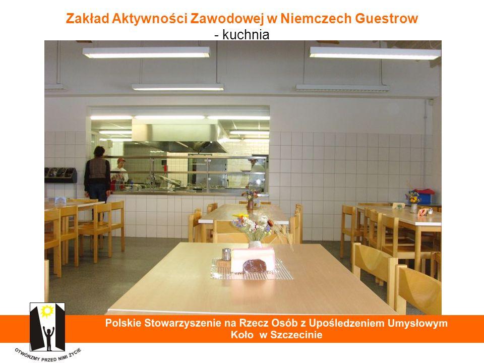 Zakład Aktywności Zawodowej w Niemczech Guestrow - kuchnia 24