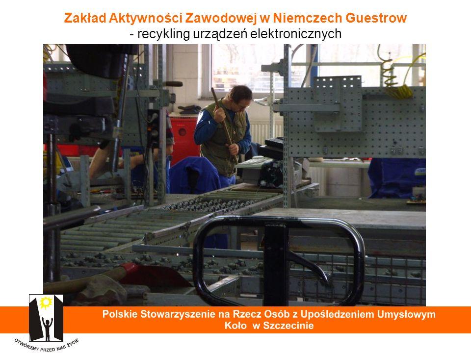 Zakład Aktywności Zawodowej w Niemczech Guestrow - recykling urządzeń elektronicznych 27