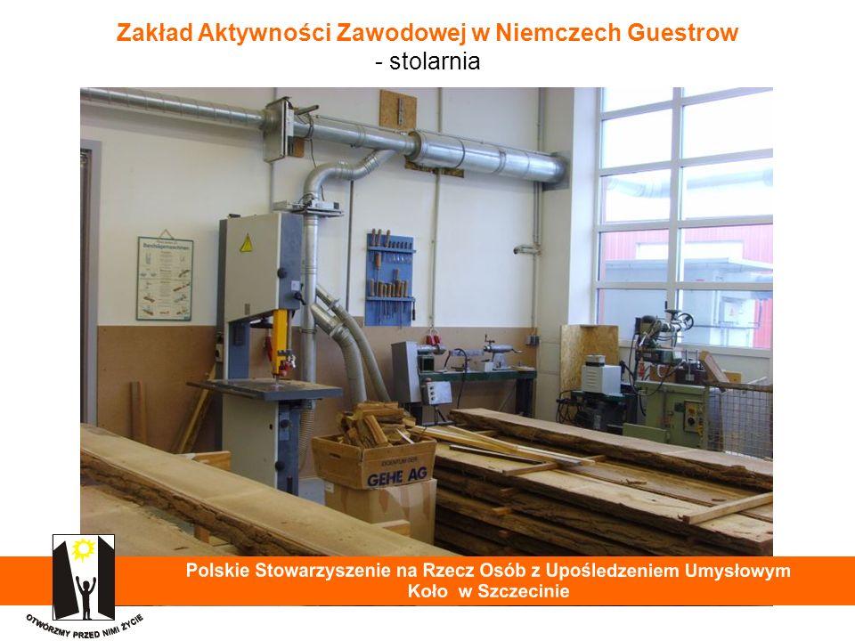 Zakład Aktywności Zawodowej w Niemczech Guestrow - stolarnia 28