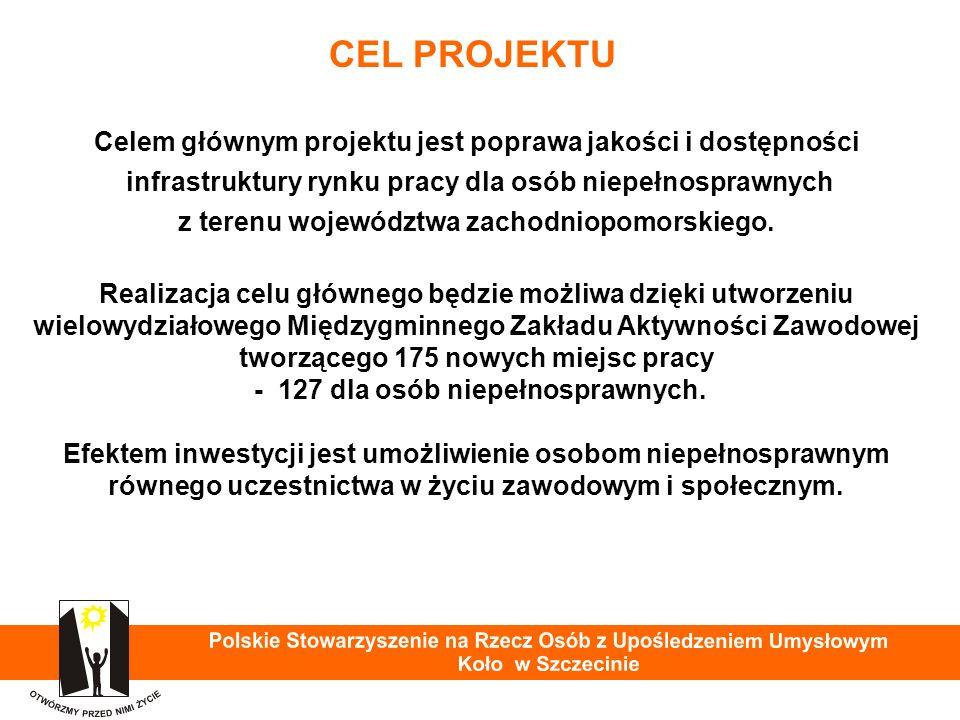 Praca osób z niepełnosprawnością intelektualną Warsztat Terapii Zajęciowej PSOUU Koło w Szczecinie - przygotowanie do pracy w ZAZ 37