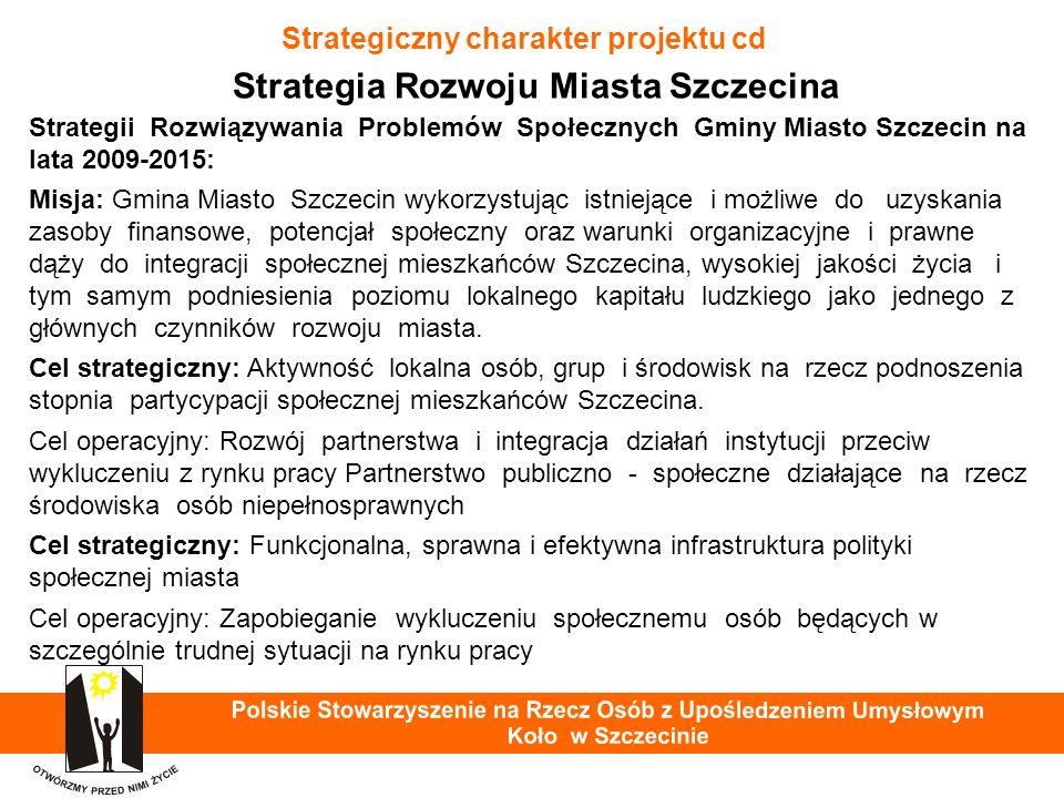 Praca osób z niepełnosprawnością intelektualną Warsztat Terapii Zajęciowej PSOUU Koło w Szczecinie - przygotowanie do pracy w ZAZ 40