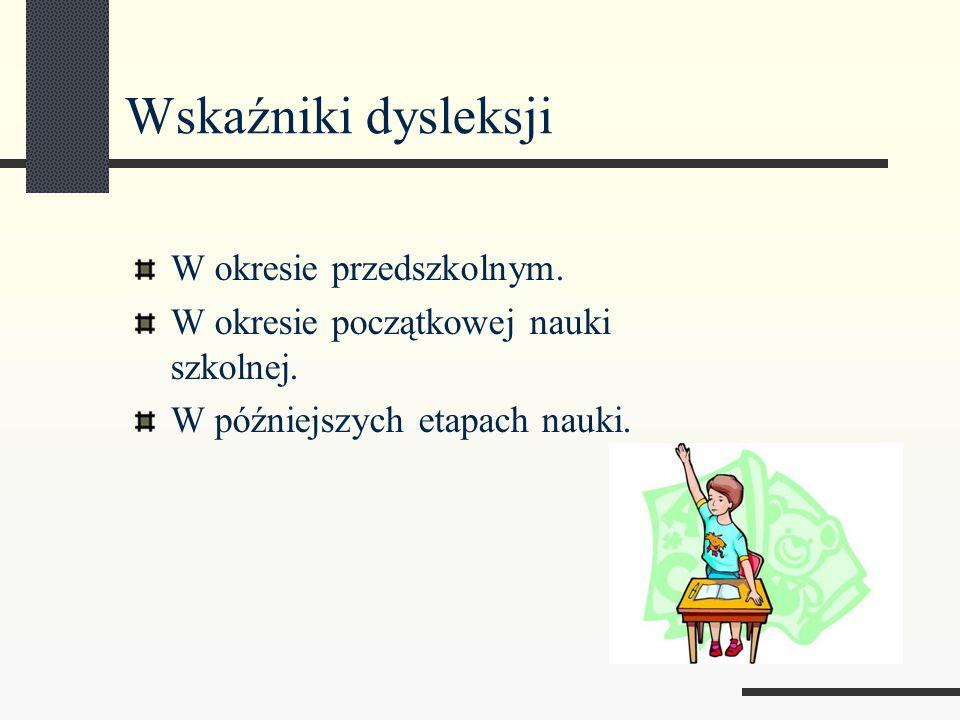 Co zrobić jeśli podejrzewa się dysleksję u dziecka.
