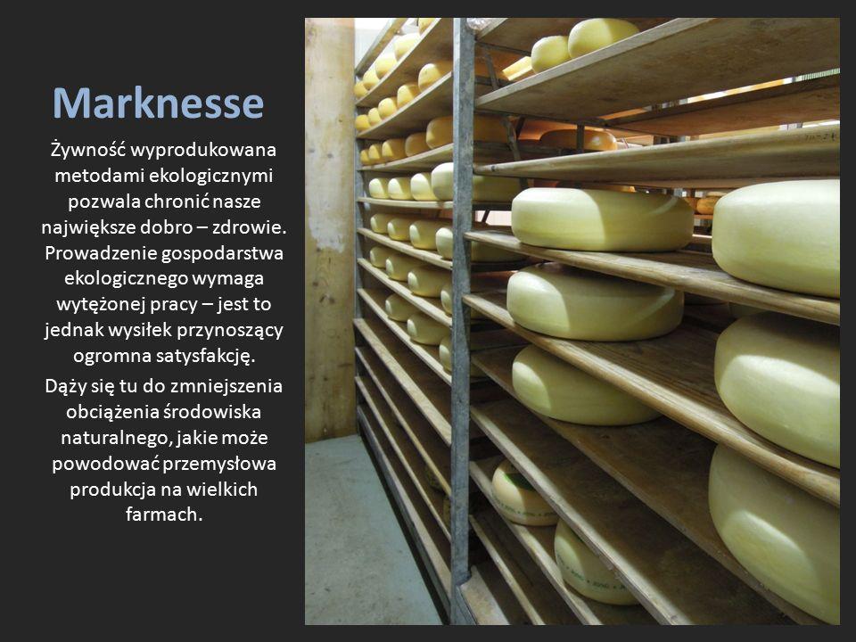 Marknesse Żywność wyprodukowana metodami ekologicznymi pozwala chronić nasze największe dobro – zdrowie.