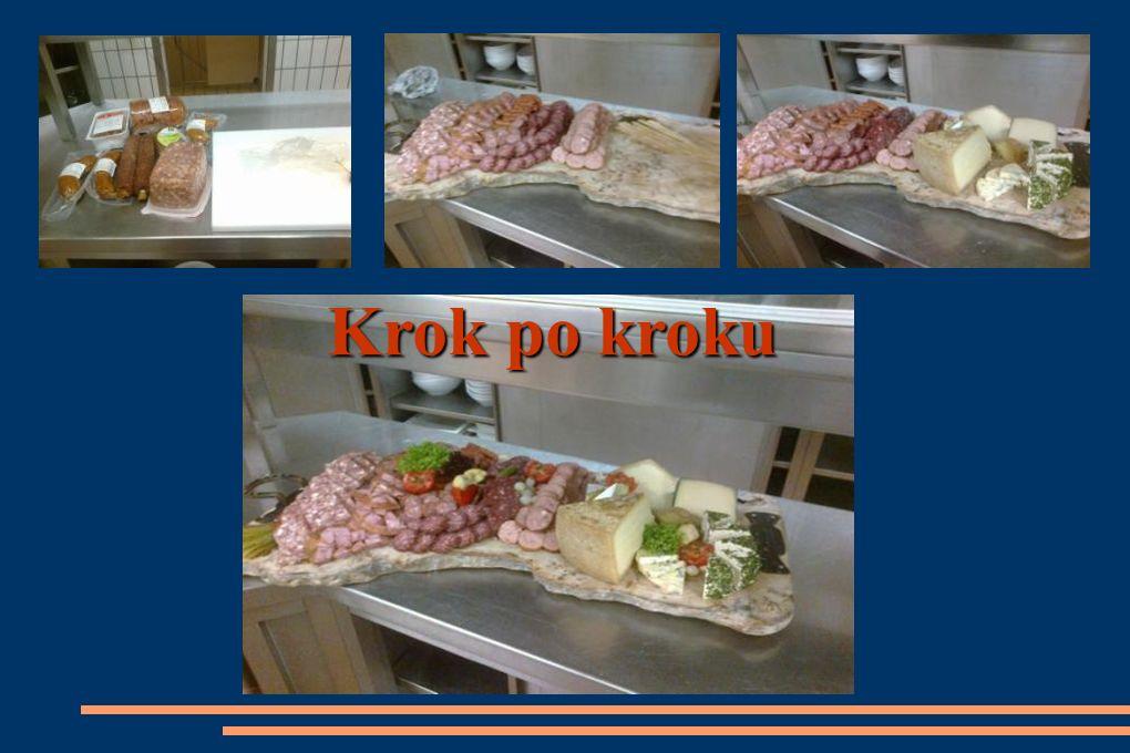Stanowisko do przygotowywania potraw mięsnych i sosów.