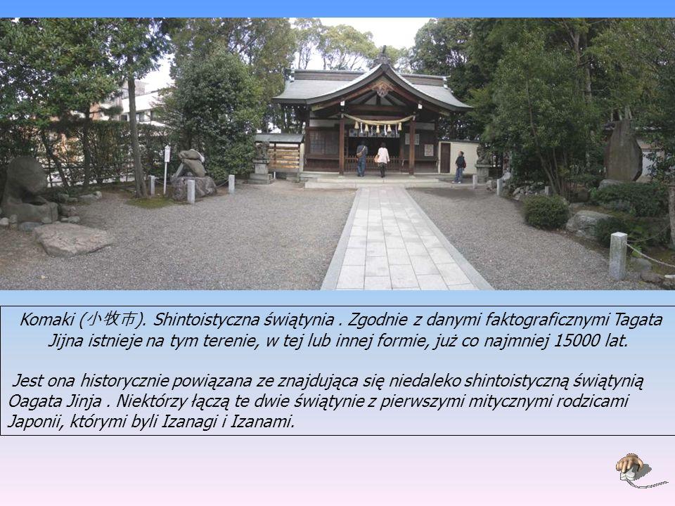 Komaki ( 小牧市 ).Shintoistyczna świątynia.