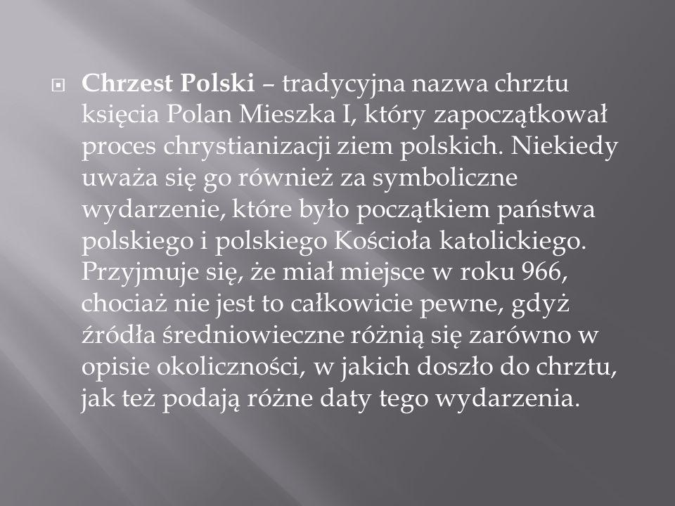 Wiele domniemanych przyczyn chrztu Polski, o których pisali w XX wieku niektórzy historycy, publicyści czy pisarze, wprowadzono do nauki i literatury sztucznie, bez najmniejszej podstawy źródłowej.