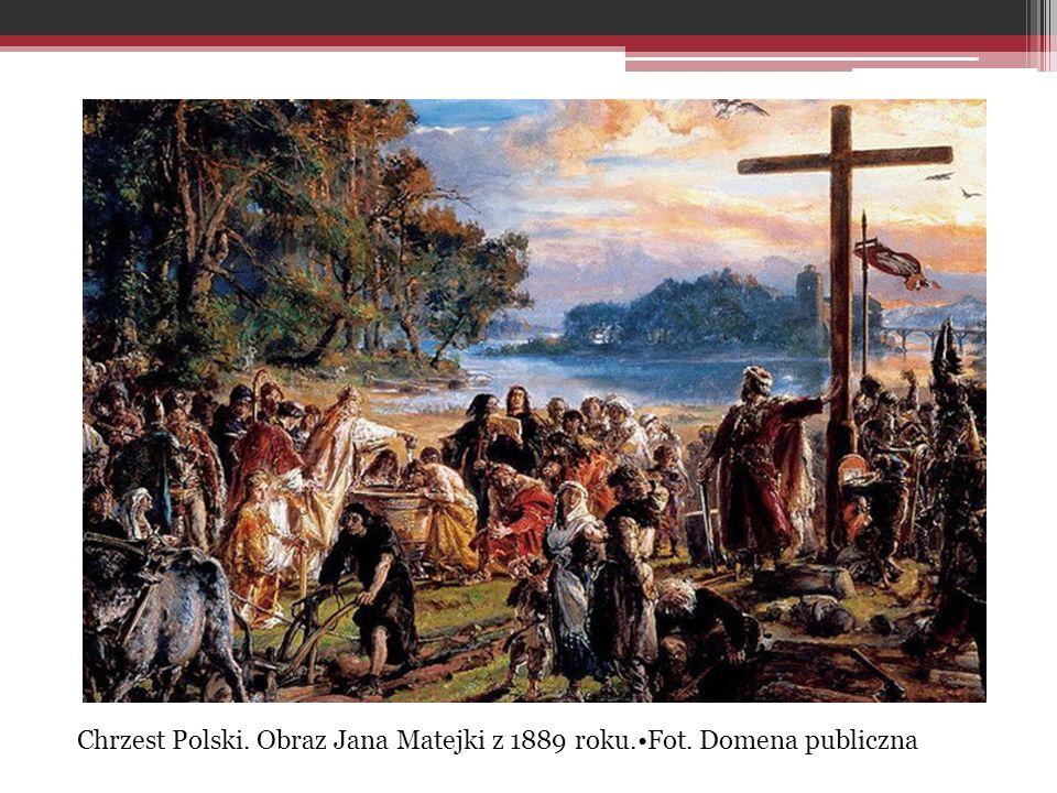 Chrzest Polski. Obraz Jana Matejki z 1889 roku.Fot. Domena publiczna