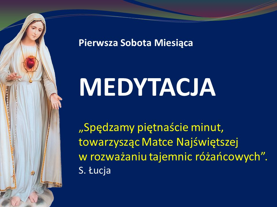 Głoszenie Królestwa Bożego MEDYTACJA