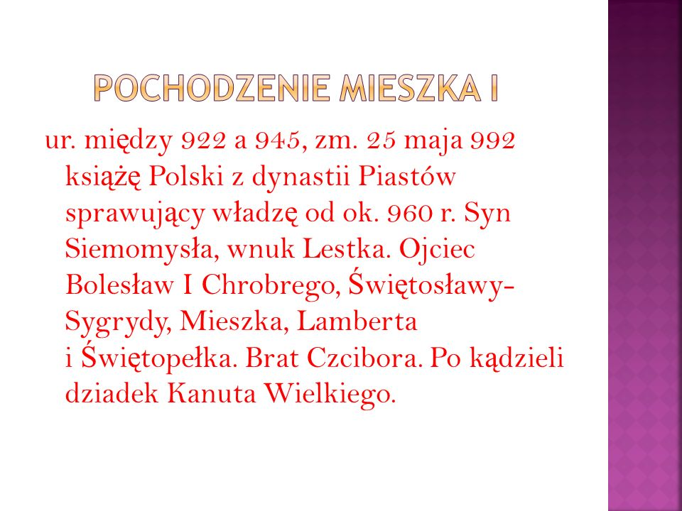 ur.mi ę dzy 922 a 945, zm.
