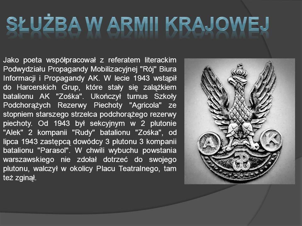 Żołnierze AK Sztandar Armii Krajowej