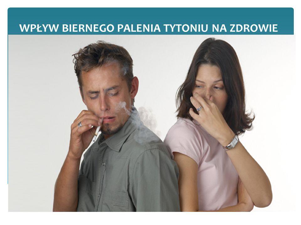 Czym jest bierne palenie.
