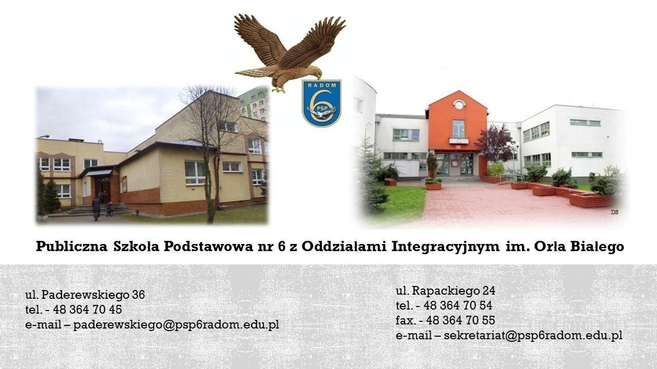 Publiczna Szko ł a Podstawowa nr 6 z Oddzia ł ami Integracyjnym im.