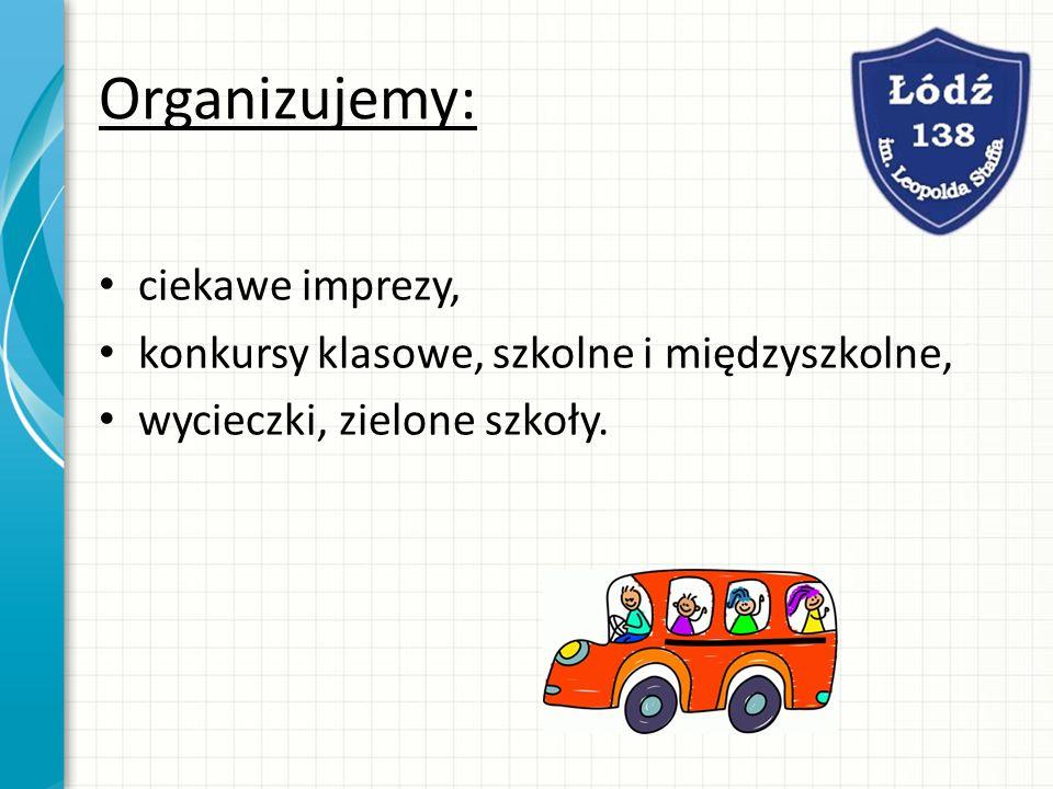 Świetlica szkolna: Zapewniamy opiekę w świetlicy szkolnej w godz. od 7.00 do 17.00.