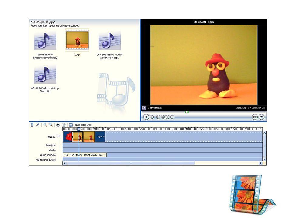Windows Movie Maker Windows Movie Maker –program do tworzenia i edycji filmów.