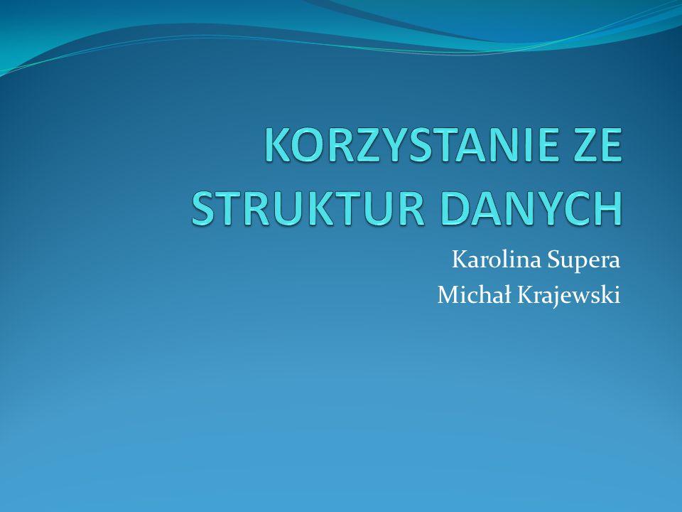 Karolina Supera Michał Krajewski