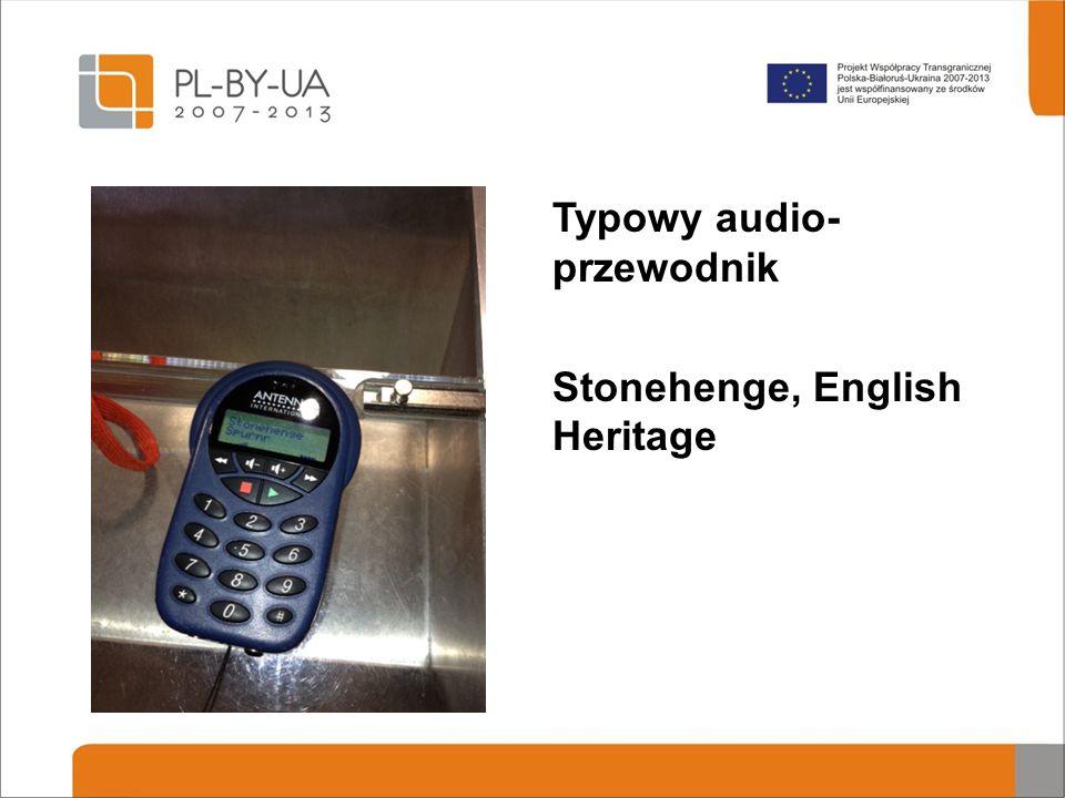Typowy audio- przewodnik Stonehenge, English Heritage