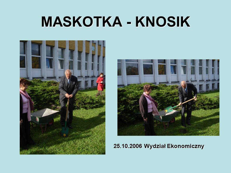 MASKOTKA - KNOSIK 25.10.2006 Wydział Ekonomiczny
