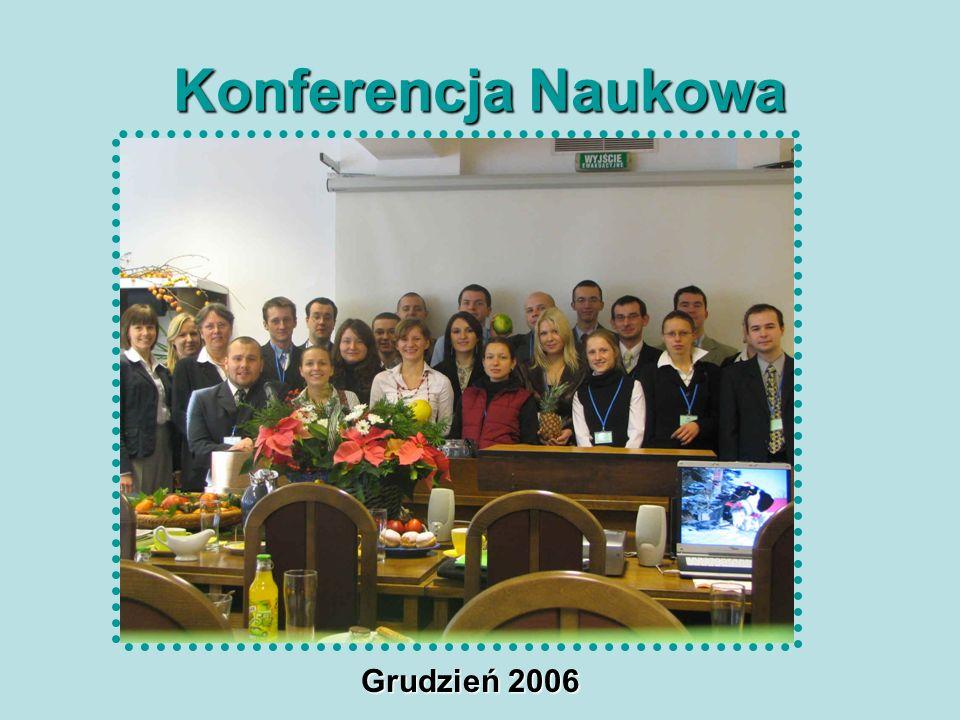 Konferencja Naukowa Grudzień 2006