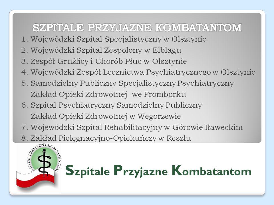 1. Wojewódzki Szpital Specjalistyczny w Olsztynie 2.