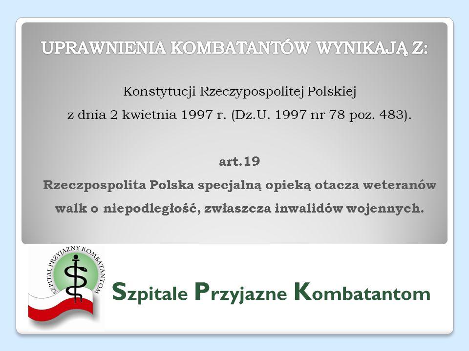 Konstytucji Rzeczypospolitej Polskiej z dnia 2 kwietnia 1997 r.
