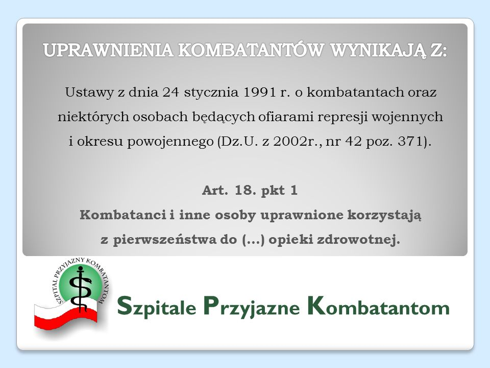 Ustawy z dnia 24 stycznia 1991 r.